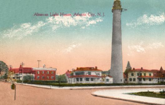 Absecon Light House circa 1913