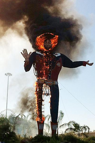 BigTex Burning