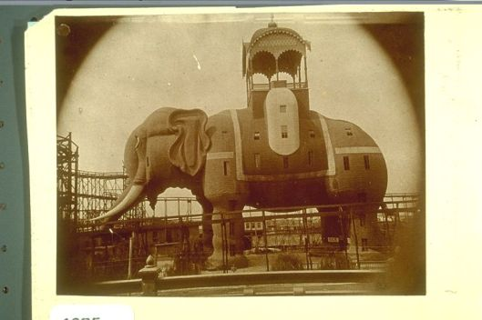 Coney Island's Elephantine Colossus - Image courtesy of the Brooklyn Historical Society