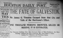 Houston Daily Post, Houston, Texas