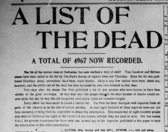 List of the Dead